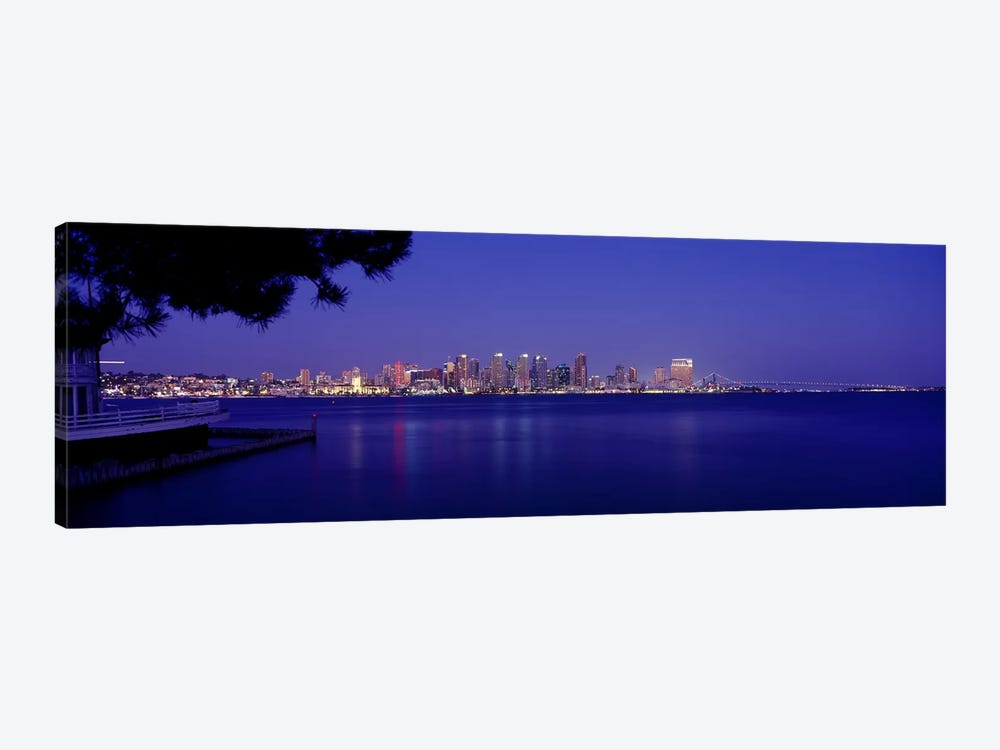 Buildings at the waterfront, San Diego, California, USA #6 by Panoramic Images 1-piece Canvas Artwork
