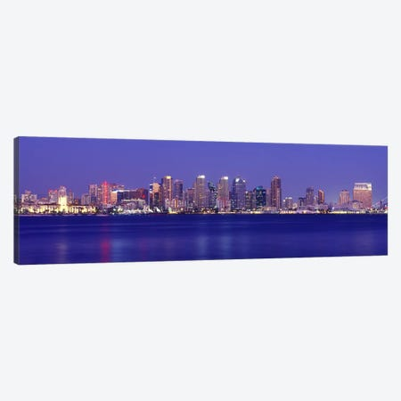 Buildings at the waterfront, San Diego, California, USA #7 Canvas Print #PIM9292} by Panoramic Images Canvas Art Print