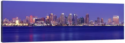 Buildings at the waterfront, San Diego, California, USA #7 Canvas Print #PIM9292