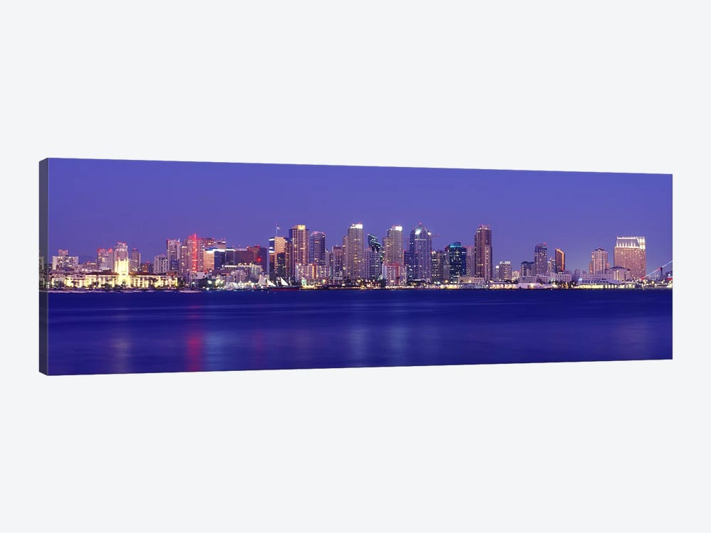 Buildings at the waterfront, San Diego, California, USA #7 by Panoramic Images 1-piece Canvas Print