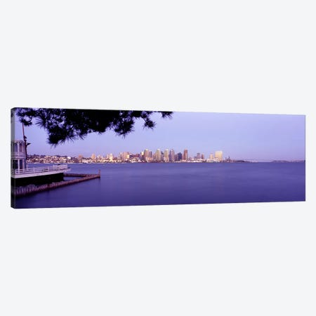 Buildings at the waterfront, San Diego, California, USA #8 Canvas Print #PIM9293} by Panoramic Images Art Print
