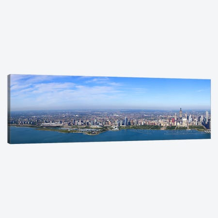 Aerial view of a cityscape, Trump International Hotel And Tower, Willis Tower, Chicago, Cook County, Illinois, USA #3 Canvas Print #PIM9308} by Panoramic Images Art Print