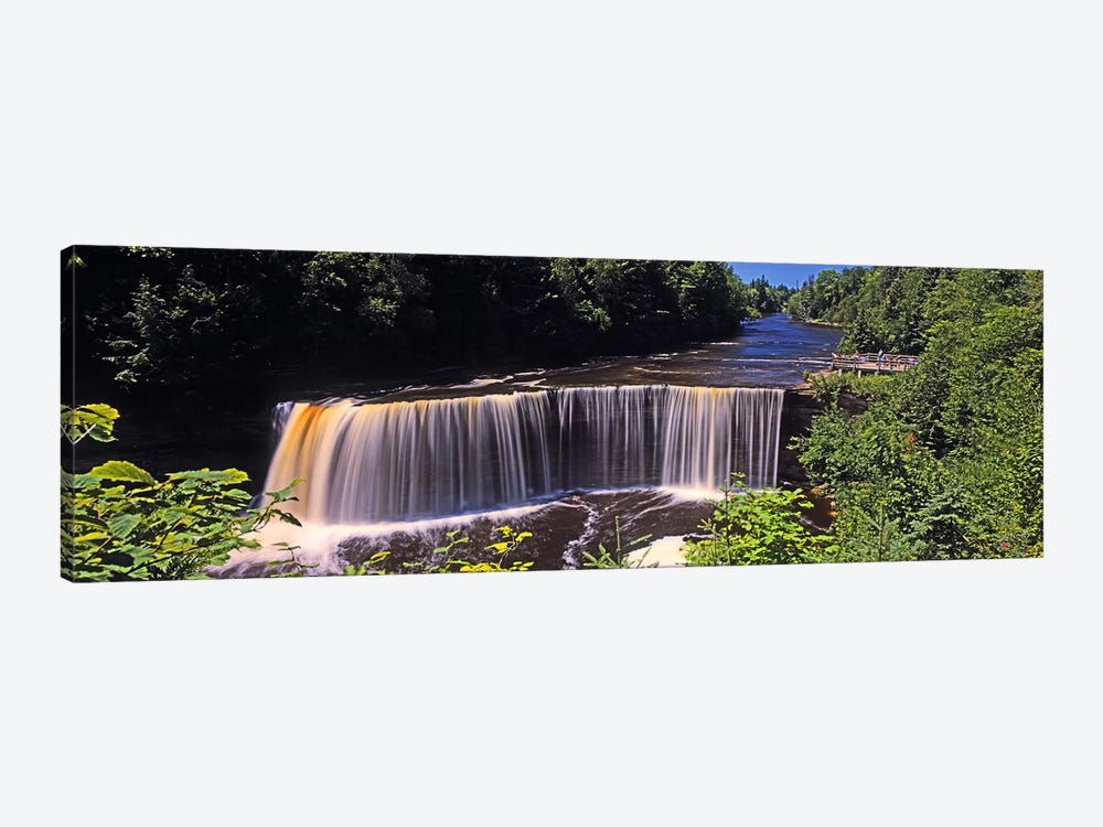 Upper Falls, Tahquamenon Falls, Tahquamenon Falls State Park, Michigan, USA by Panoramic Images 1-piece Canvas Wall Art