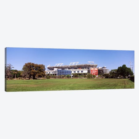 Raymond James Stadium home of Tampa Bay Buccaneers, Tampa, Florida, USA Canvas Print #PIM9379} by Panoramic Images Canvas Wall Art