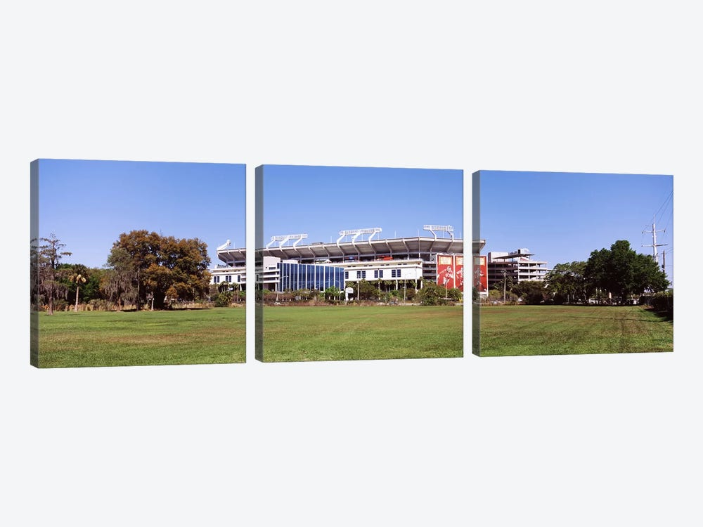 Raymond James Stadium home of Tampa Bay Buccaneers, Tampa, Florida, USA by Panoramic Images 3-piece Canvas Print