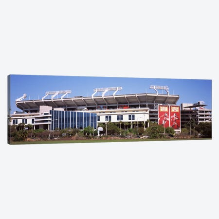 Raymond James Stadium home of Tampa Bay BuccaneersTampa, Florida, USA Canvas Print #PIM9380} by Panoramic Images Canvas Print