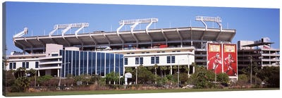 Raymond James Stadium home of Tampa Bay BuccaneersTampa, Florida, USA Canvas Art Print