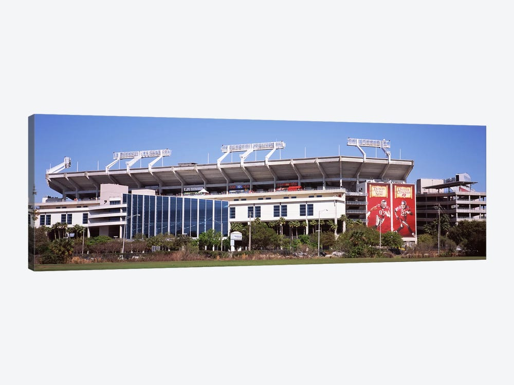 Raymond James Stadium home of Tampa Bay BuccaneersTampa, Florida, USA 1-piece Canvas Print