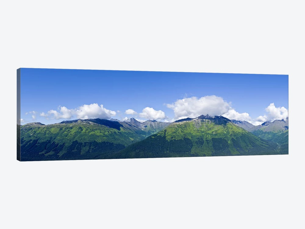 Mountain range, Chugach Mountains, Anchorage, Alaska, USA by Panoramic Images 1-piece Canvas Art