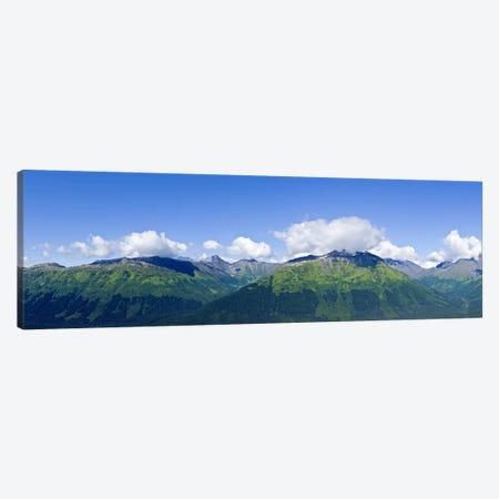 Mountain range, Chugach Mountains, Anchorage, Alaska, USA Canvas Print #PIM9383} by Panoramic Images Canvas Print