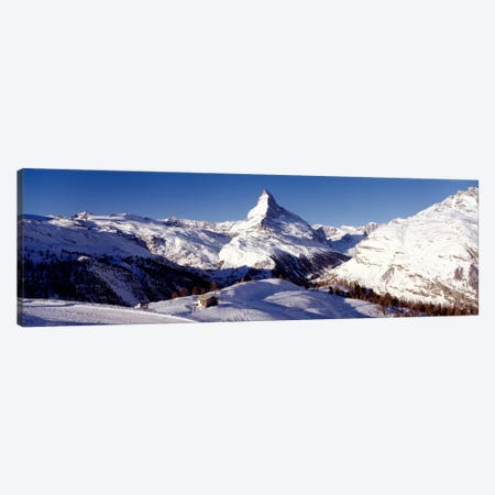 Matterhorn, Zermatt, Valais, Switzerland Canvas Print #PIM93} by Panoramic Images Art Print