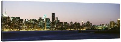 Skyscrapers at the waterfront, New York City, New York State, USA #3 Canvas Print #PIM9435