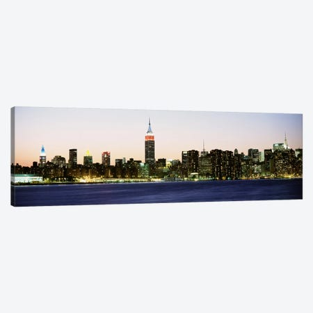 Skyscrapers at the waterfront, New York City, New York State, USA #4 Canvas Print #PIM9436} by Panoramic Images Canvas Wall Art