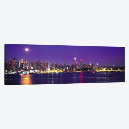 Skyscrapers at the waterfront, New York City, New York State, USA Canvas Print #PIM9439} by Panoramic Images Canvas Print