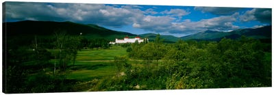 Hotel in the forestMount Washington Hotel, Bretton Woods, New Hampshire, USA Canvas Print #PIM944