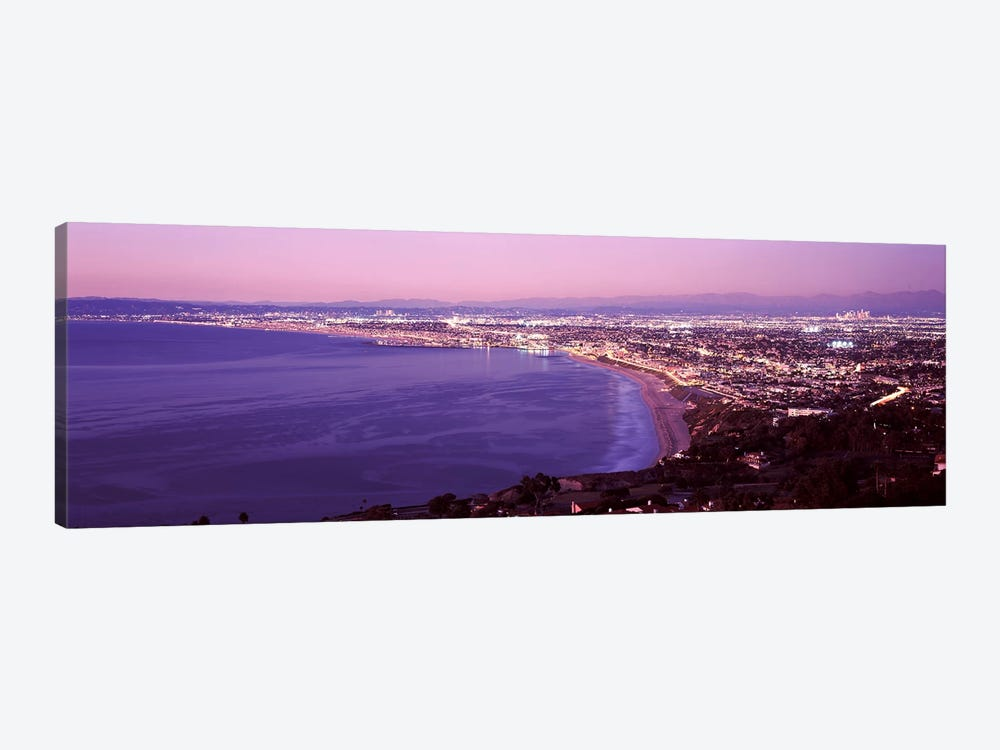 View of Los Angeles downtown, California, USA by Panoramic Images 1-piece Canvas Art Print