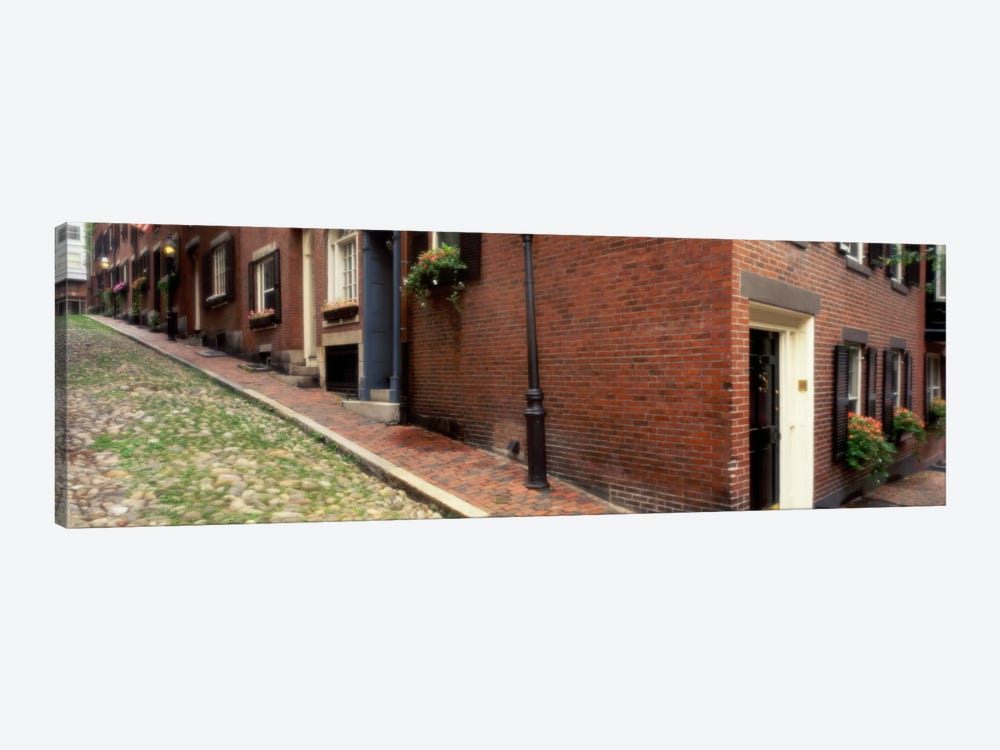 USAMassachusetts, Boston, Beacon Hill by Panoramic Images 1-piece Canvas Artwork