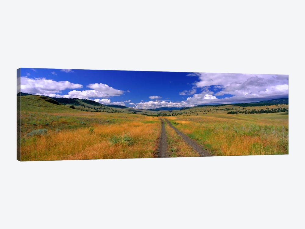 Cattle Ranch Road near Merritt British Columbia Canada by Panoramic Images 1-piece Canvas Art Print