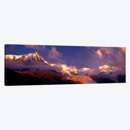 Aiguille du Midi, Mont Blanc Massif, Haute-Savoie, Rhone-Alpes, France Canvas Print #PIM954} by Panoramic Images Canvas Art Print