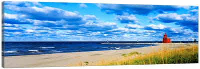 Big Red Lighthouse, Holland, Michigan, USA Canvas Print #PIM958