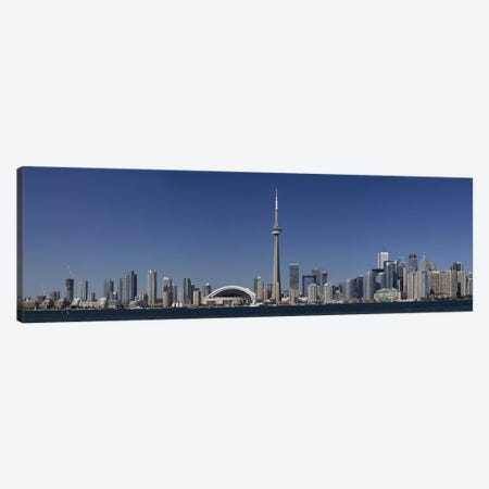 Downtown Skyline, Toronto, Ontario, Canada Canvas Print #PIM9599} by Panoramic Images Canvas Artwork