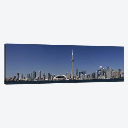 Downtown Skyline, Toronto, Ontario, Canada Canvas Print #PIM9599} by Panoramic Images Canvas Artwork