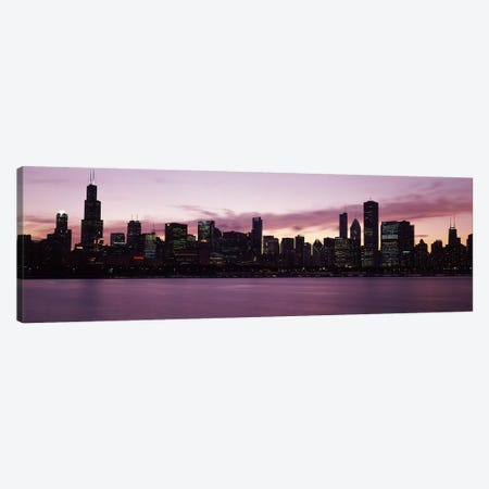 Buildings at the waterfront, Lake Michigan, Chicago, Illinois, USA 2011 Canvas Print #PIM9602} by Panoramic Images Canvas Wall Art