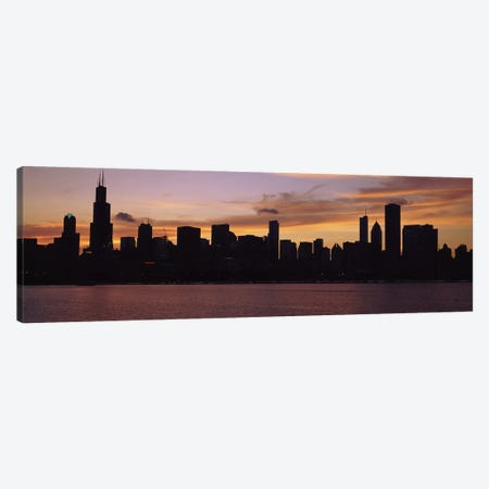 Buildings at the waterfront, Lake Michigan, Chicago, Illinois, USA 2011 #2 Canvas Print #PIM9603} by Panoramic Images Canvas Artwork