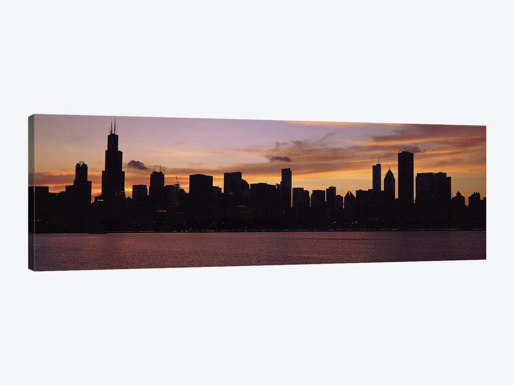 Buildings at the waterfront, Lake Michigan, Chicago, Illinois, USA 2011 #2 by Panoramic Images 1-piece Canvas Art
