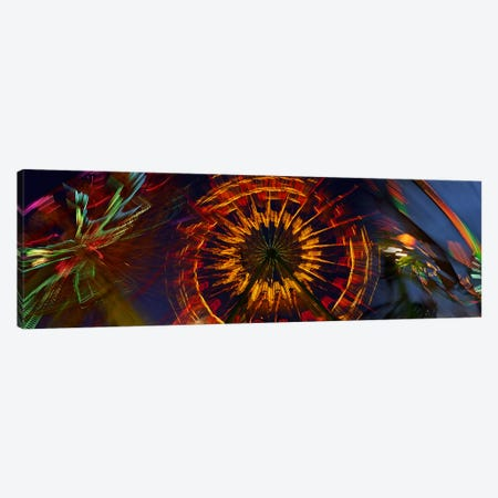 Fairgrounds Canvas Print #PIM9623} by Panoramic Images Canvas Wall Art