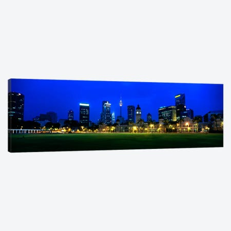 Federal Secretariat Kuala Lumpur Malaysia Canvas Print #PIM962} by Panoramic Images Canvas Print