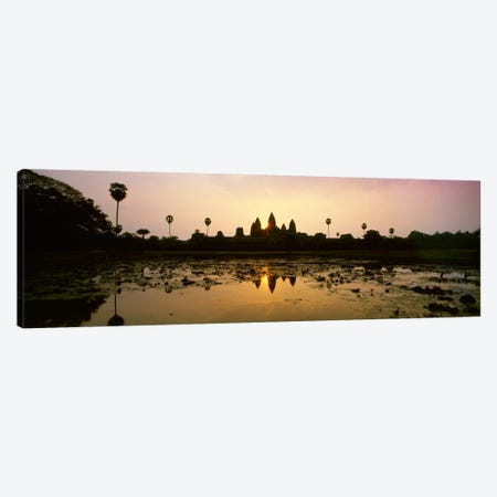 Angkor Vat Cambodia Canvas Print #PIM964} by Panoramic Images Canvas Artwork