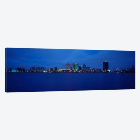 Buildings at the waterfront, Norfolk, Virginia, USA Canvas Print #PIM968} by Panoramic Images Canvas Art Print