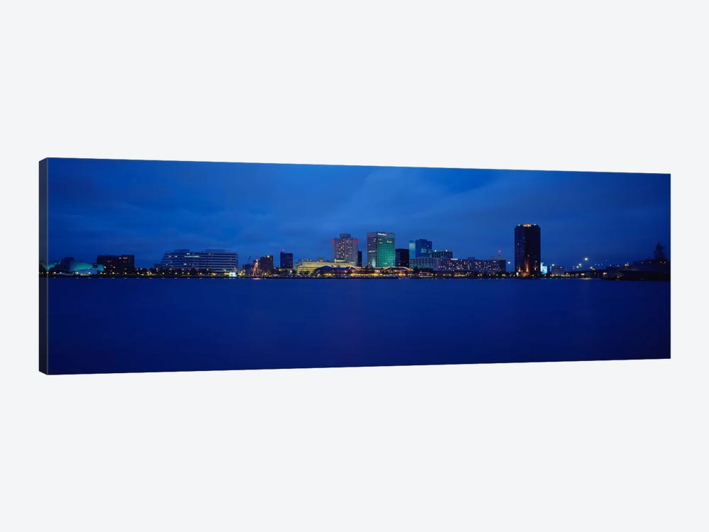 Buildings at the waterfront, Norfolk, Virginia, USA by Panoramic Images 1-piece Canvas Art