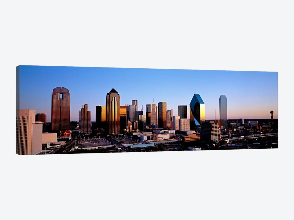 USA, Texas, Dallas, sunrise by Panoramic Images 1-piece Art Print