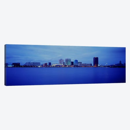 Buildings at the waterfront, Norfolk, Virginia, USA Canvas Print #PIM970} by Panoramic Images Canvas Artwork