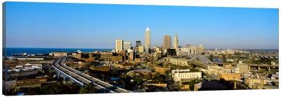 USA, Ohio, Cleveland, aerial Canvas Print #PIM972