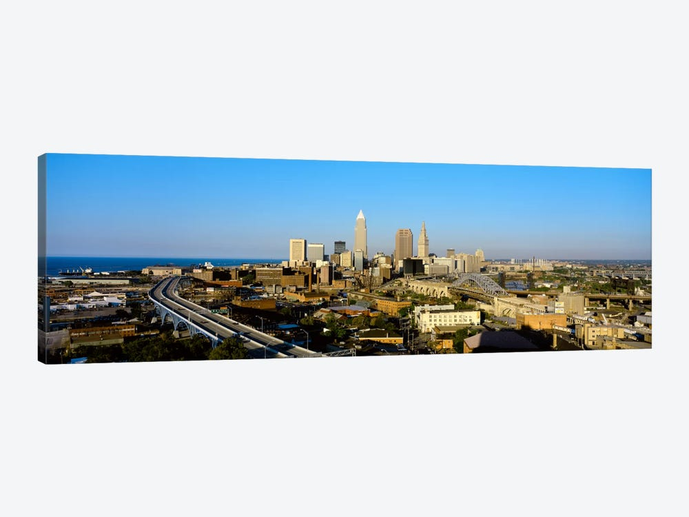 USA, Ohio, Cleveland, aerial by Panoramic Images 1-piece Art Print