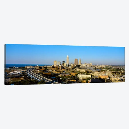 USA, Ohio, Cleveland, aerial Canvas Print #PIM972} by Panoramic Images Canvas Wall Art