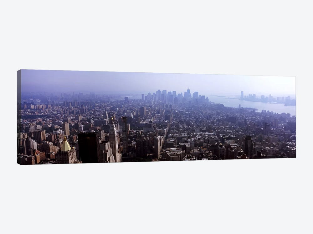 High angle view of buildings in a city, Manhattan, New York City, New York State, USA 2011 #2 by Panoramic Images 1-piece Canvas Art Print