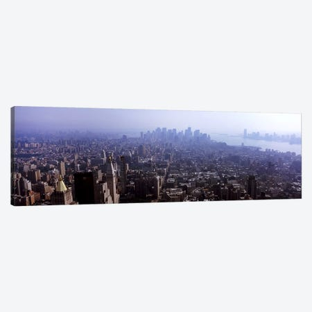 High angle view of buildings in a city, Manhattan, New York City, New York State, USA 2011 #2 Canvas Print #PIM9752} by Panoramic Images Canvas Wall Art