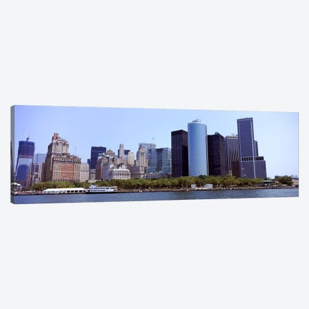 Skyscrapers at the waterfront, Lower Manhattan, Manhattan, New York City, New York State, USA 2011 #2 Canvas Print #PIM9754} by Panoramic Images Canvas Print