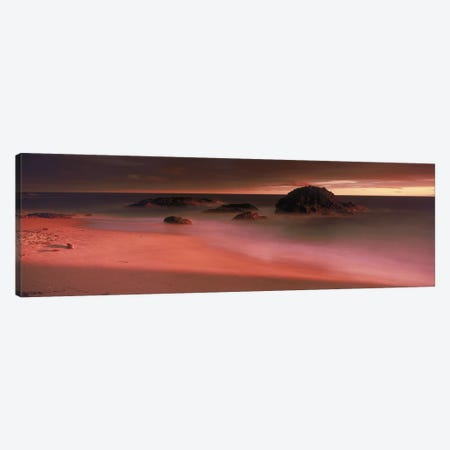 Rock formations on the beach, Laguna Beach, California, USA Canvas Print #PIM9759} by Panoramic Images Canvas Art