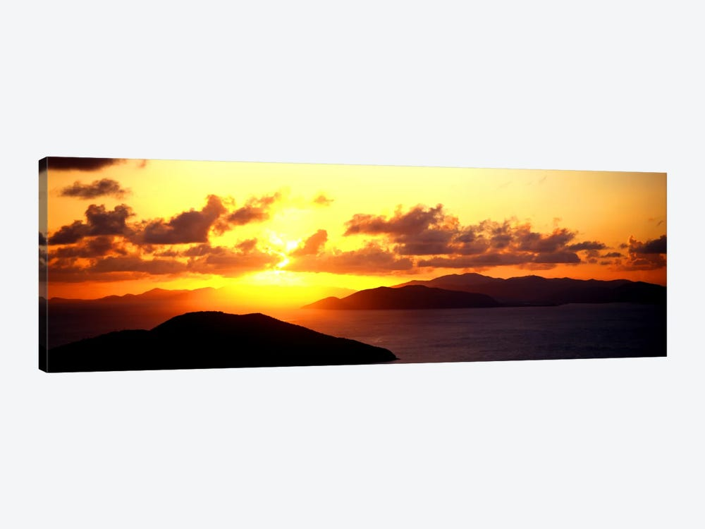 Sunset Virgin Gorda British Virgin Islands by Panoramic Images 1-piece Canvas Artwork