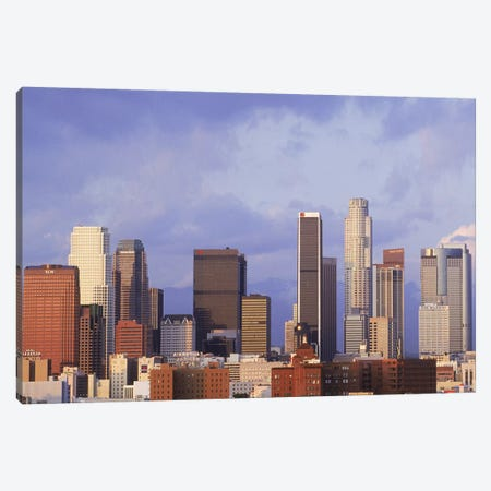 Skyscrapers in a city, City Of Los Angeles, Los Angeles County, California, USA #6 Canvas Print #PIM9787} by Panoramic Images Canvas Art