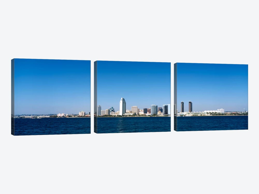 Buildings at the waterfront, San Diego, California, USA #9 by Panoramic Images 3-piece Art Print