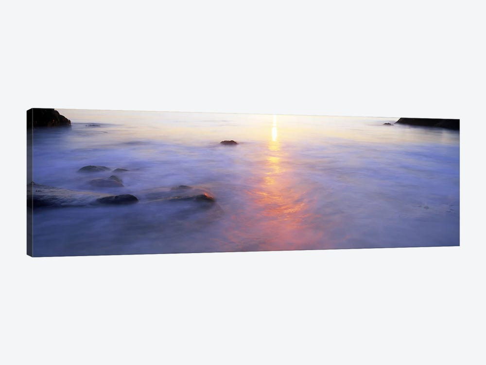 Ocean at sunset by Panoramic Images 1-piece Canvas Art