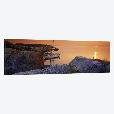 Sailboats on the coast, Lilla Nassa, Stockholm Archipelago, Sweden Canvas Print #PIM9805} by Panoramic Images Canvas Print