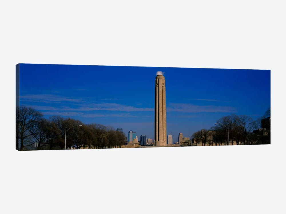 Low angle view of a monument in a park, Liberty Memorial, Kansas City, Missouri, USA by Panoramic Images 1-piece Canvas Print