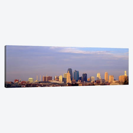 Skyscrapers in a city, Kansas City, Missouri, USA Canvas Print #PIM982} by Panoramic Images Canvas Art Print